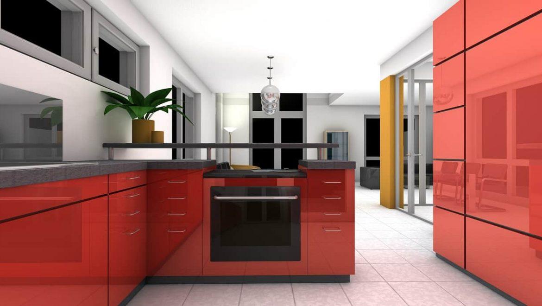 היתרונות של חיפוי זכוכית למטבח בתחום הניקיון