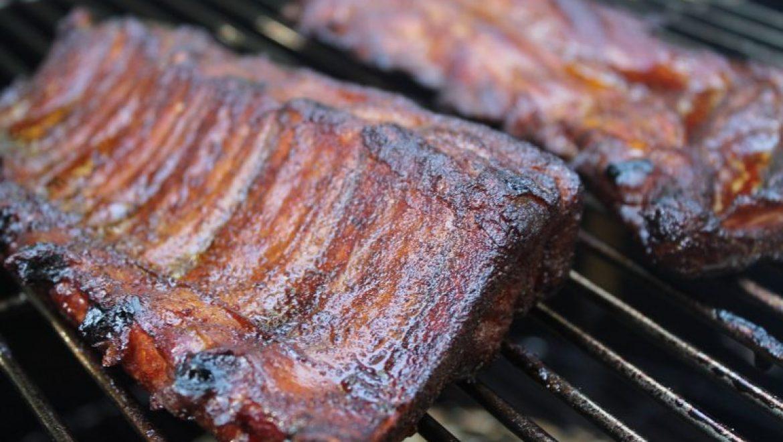 רצועות בשר בבישול